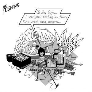 The Foshays: Comic Strip